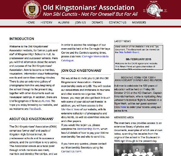 Old Kingstonians Association