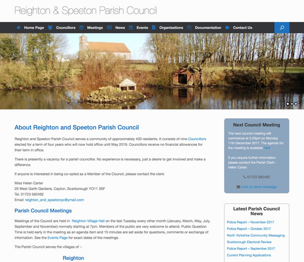 Reighton and Speeton Parish Council